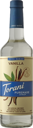 Puremade Zero Sugar Vanilla Syrup