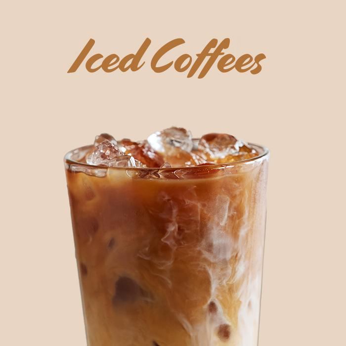 Iced Hazelnut Latte