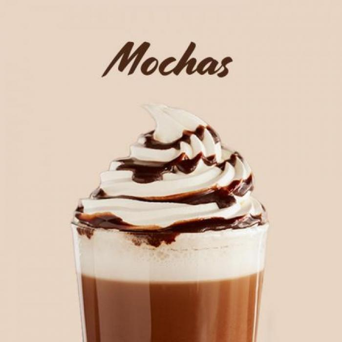 Ghostly Pumpkin Pie Mocha