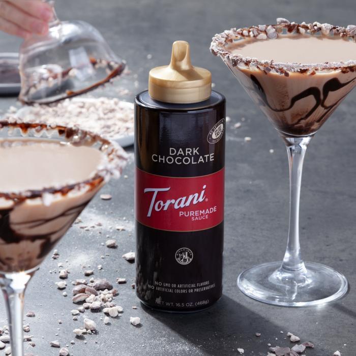 Dark Chocolate Malt Martini