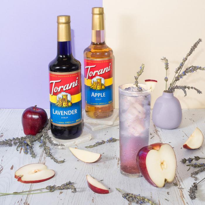 Lavender Apple Soda
