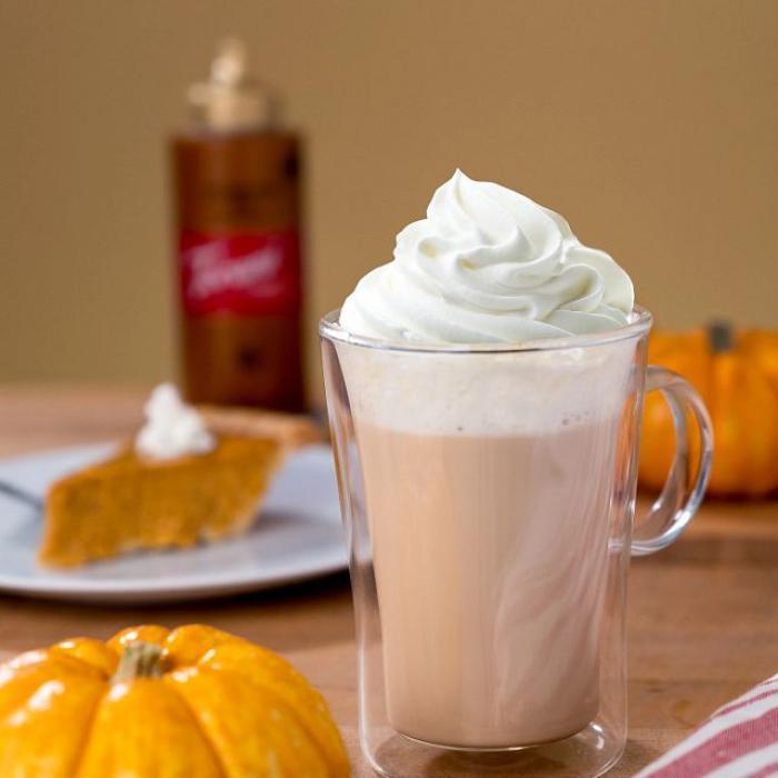 Loaded Pumpkin Pie Milkshake