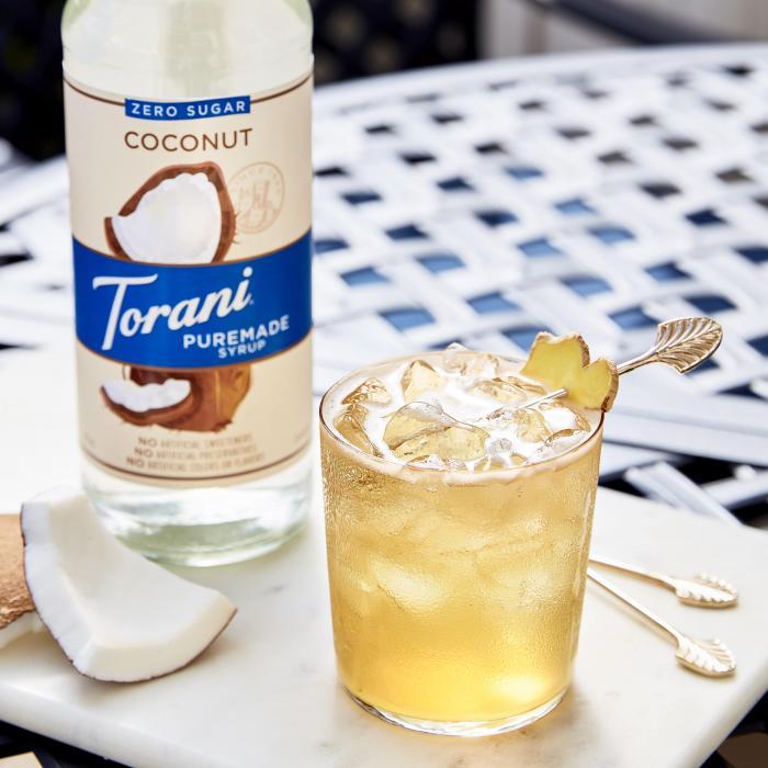 Shaken Coconut Lemongrass Teasan
