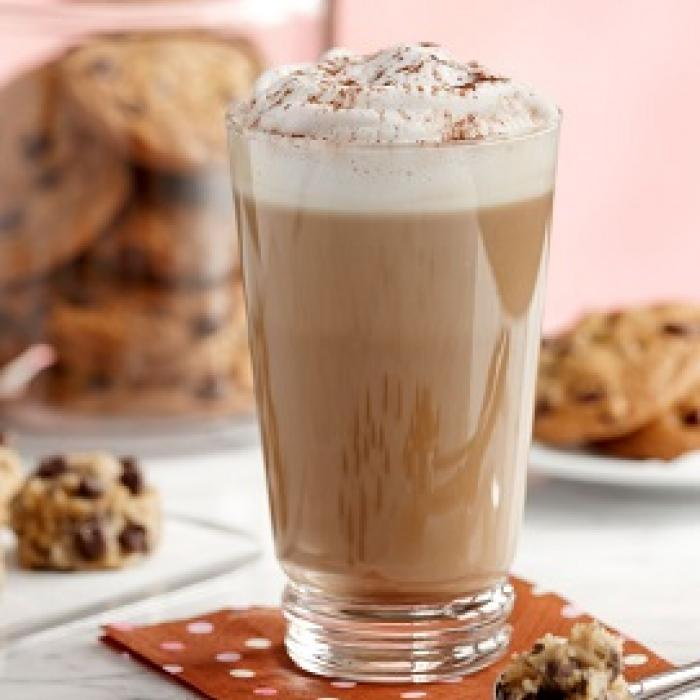 Sugar Free Caramel Chocolate Chip Cookie Latte