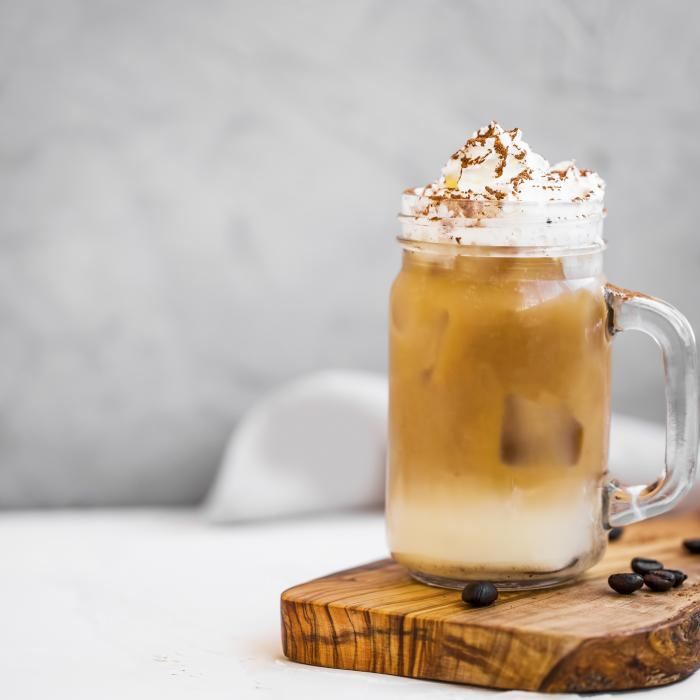 Iced Fortune Cookie Latte