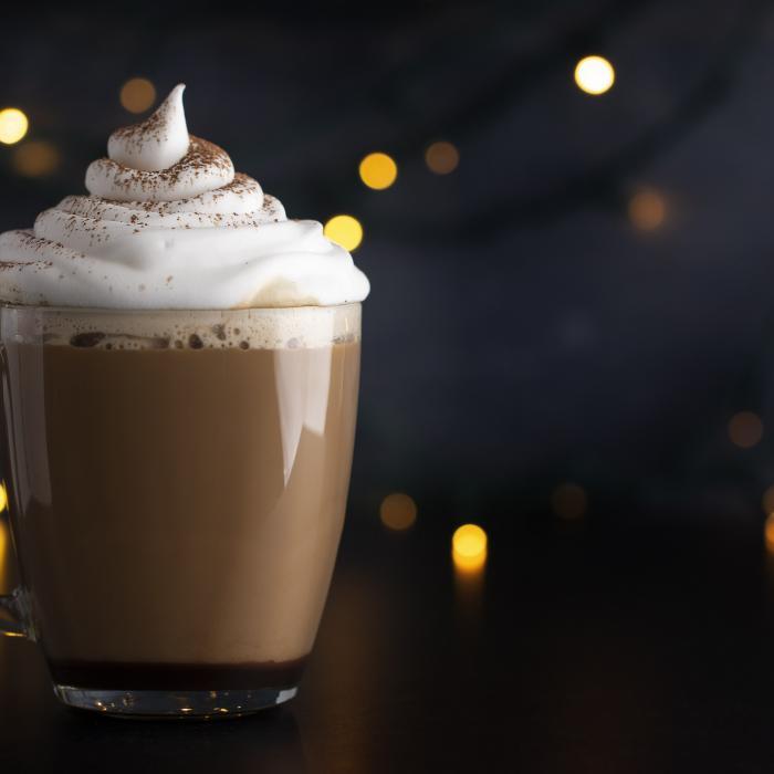 Chocolate-Covered Cherry Hot Chocolate