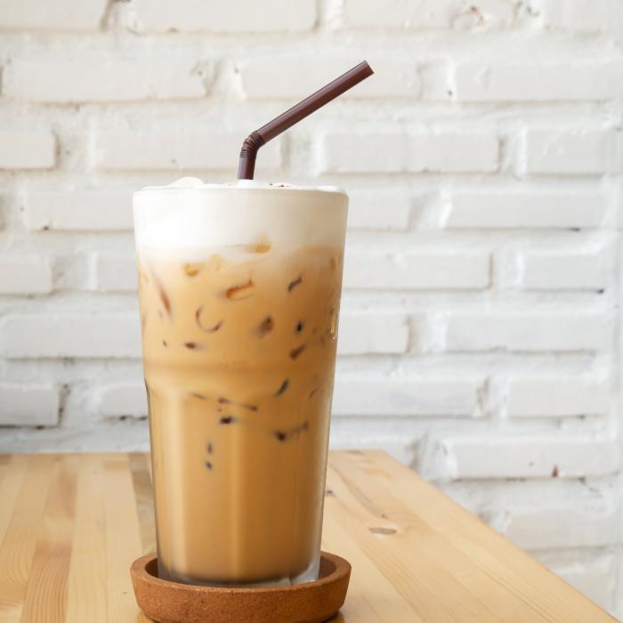 Keto Iced Hazelnut Latte