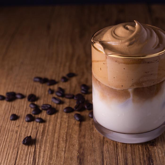 Caramel Dalgona Coffee