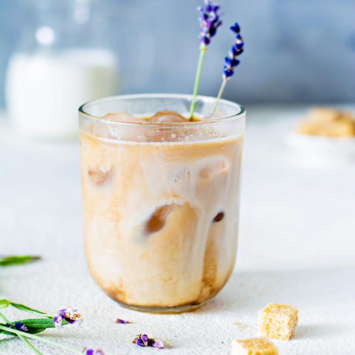 Lavender Vanilla Milk Tea