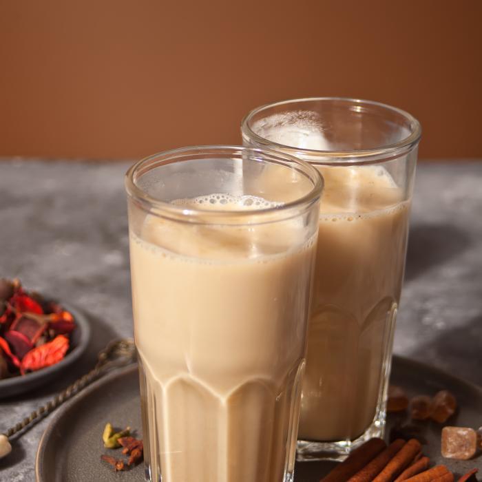Shaken Caramel Apple Milk Tea