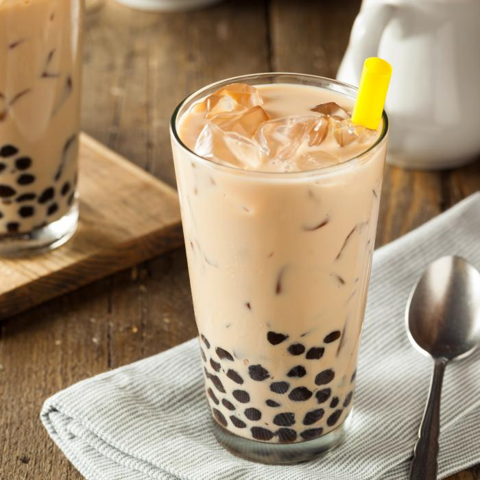 Ube Bubble Milk Tea