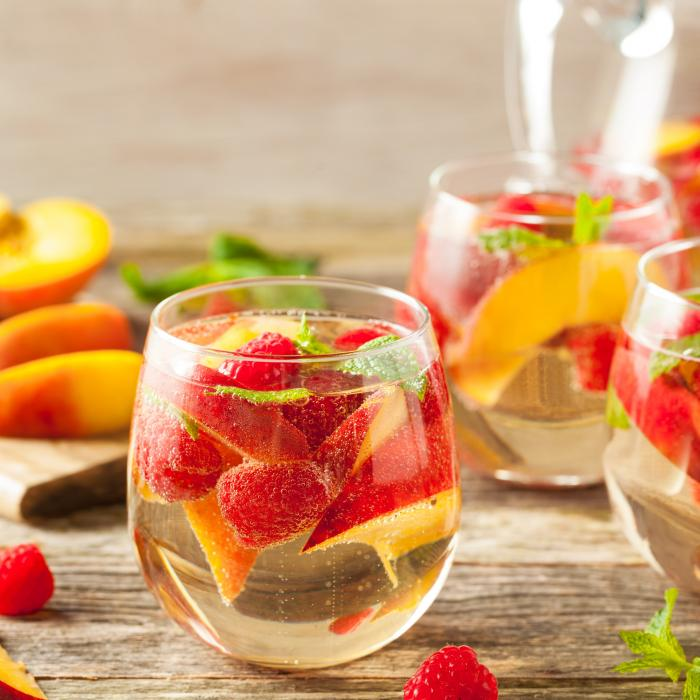 White Peach Shrub