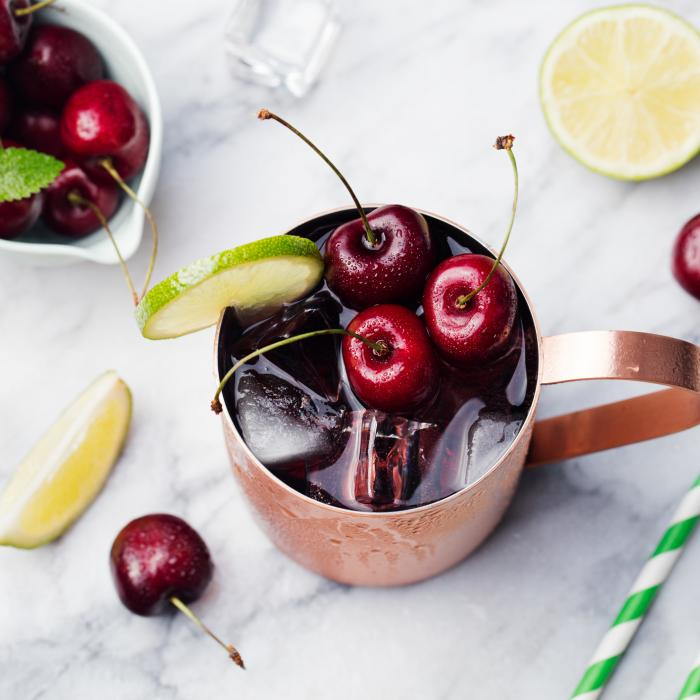Smoked Black Cherry Mule