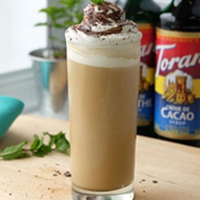 Iced Grasshopper Latte