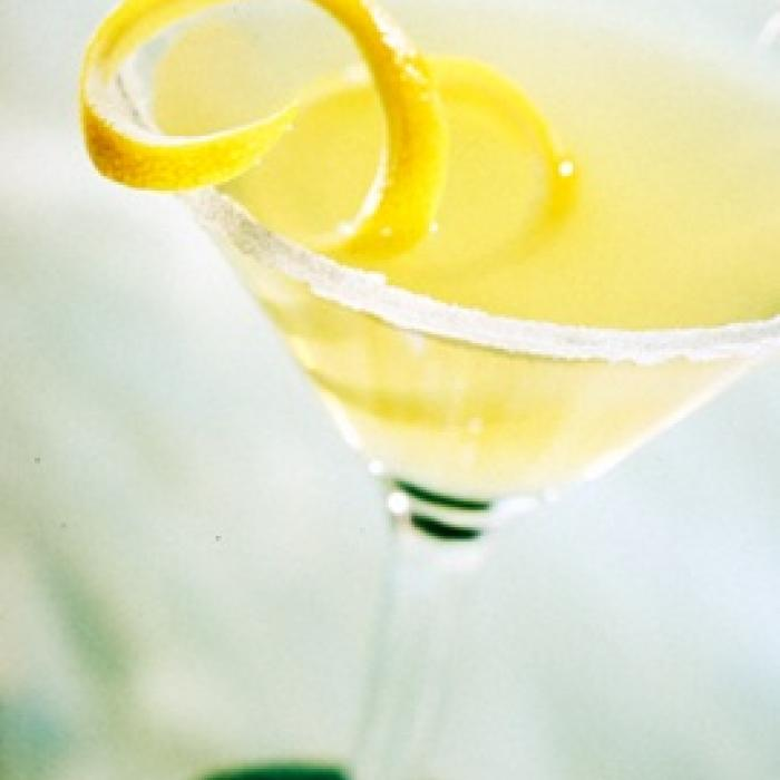 Kickin Key Lime Pie Martini