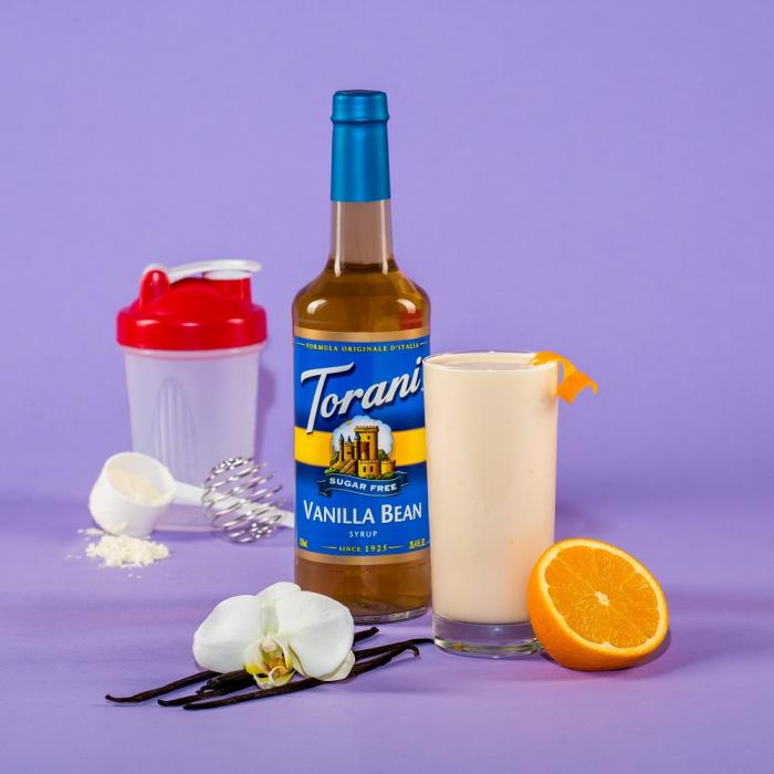 Orange Cream Protein Shake