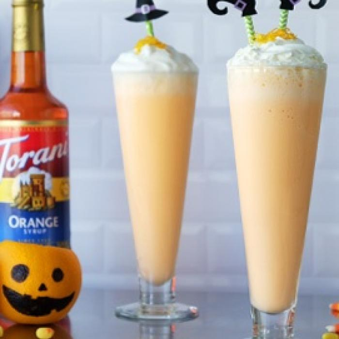 Orange Cream Milkshake