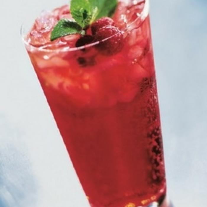 Red Raspberry Italian Soda