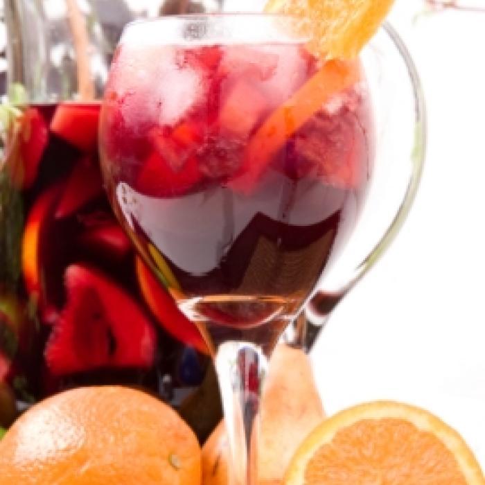 Crangberry-Orange Sangria