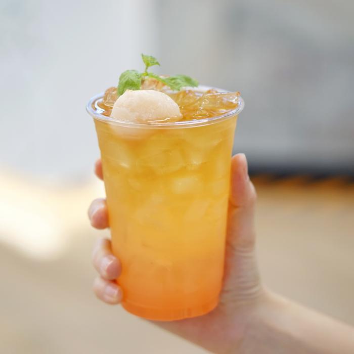 Shaken Lychee Lemonade Splash