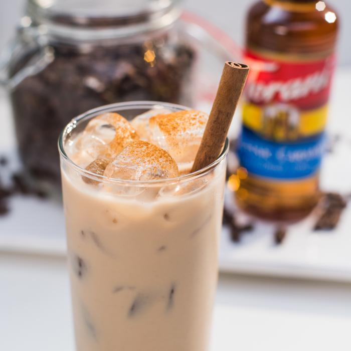 Shaken Candied Hazelnut Latte