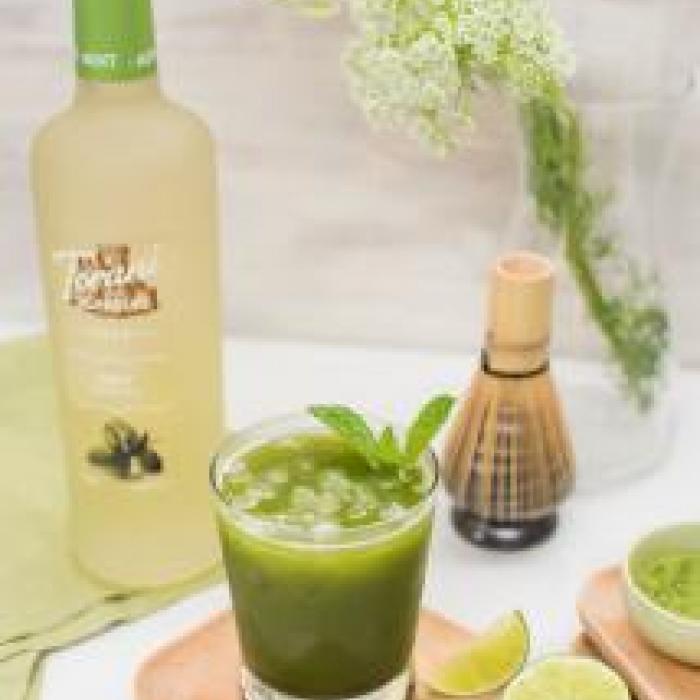 Matcha Mint Iced Tea Recipe Torani