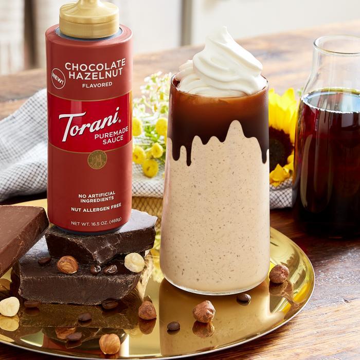 Chocolate Hazelnut Frappe