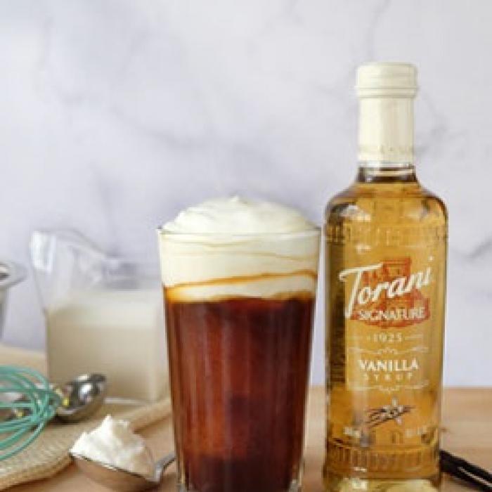 Torani Signature Vanilla Whipped Cream