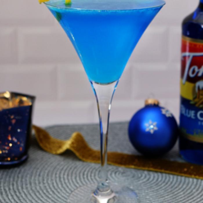 Blue Frost Martini