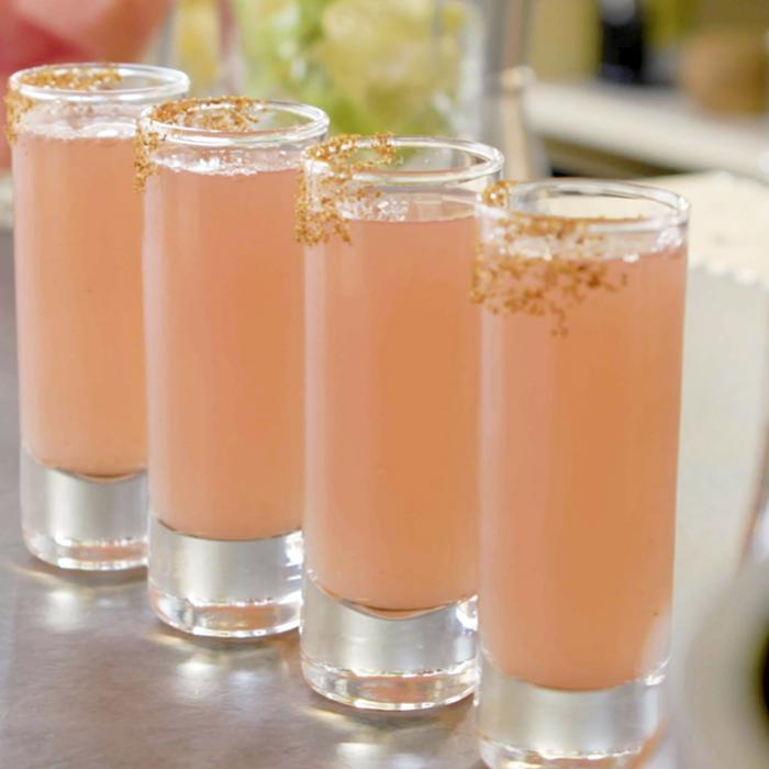 Watermelon Margarita Shots