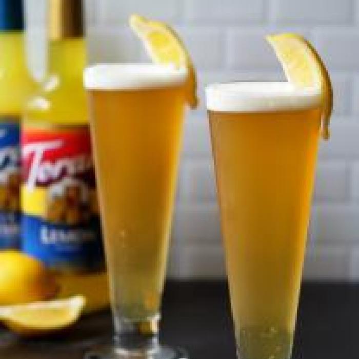 Candied Lemon Beer Shandy