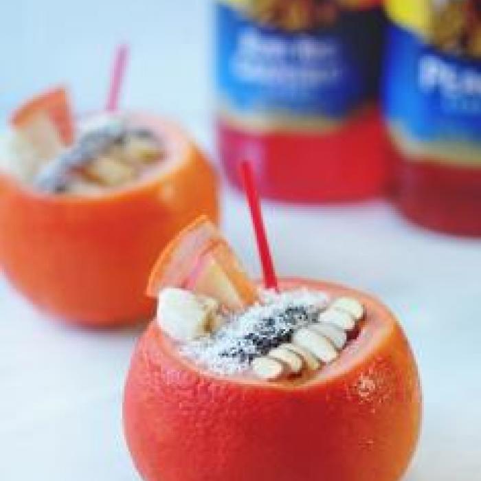 Peachy Citrus Smoothie Bowl