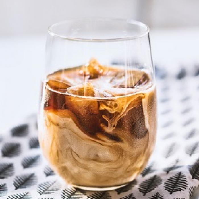 Iced Skinny Sticky Toffee Latte