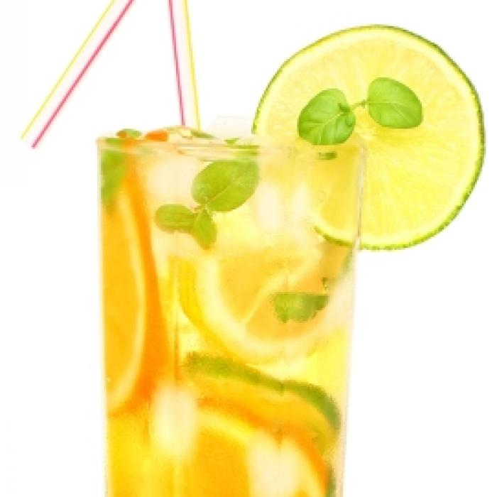 Lime and Orange Gin Spritzer
