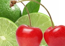 Cherry Lime Italian Soda image